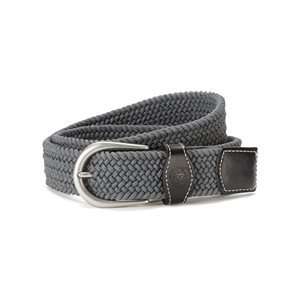BELT ARIAT UNI ROUND BUCKLE GREY