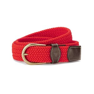 BELT ARIAT UNI ROUND BUCKLE RED