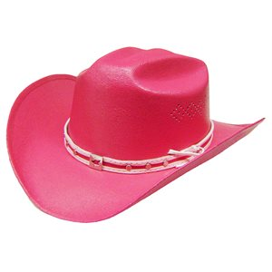 CHAPEAU COWBOY ENFANT ROSE 191.54K ONE SIZE