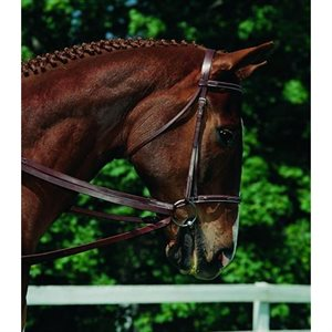 IMPERAL LEATHER REINS 5 / 8 507318 NOIR