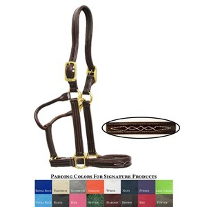 SIGNATURE PADDED HALTER WALSH