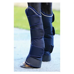 RAMBO TRAVEL BOOTS NAVY / CREAM