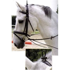 NECK STRETCHER FULL (HORSE SIZE) NOIR