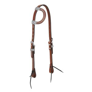 AUSTIN EARD HEADSTALL BROWN