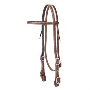 BROWBAND HEADSTALL BUCKLE BIT SS
