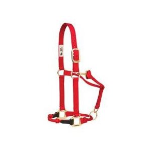 HALTER SMALL ADJUSTABLE RED