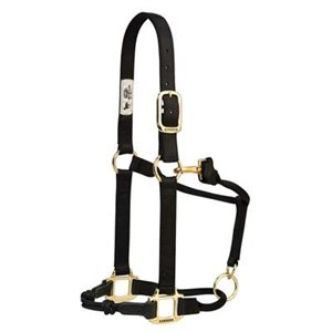 HALTER AVERAGE ADJUSTABLE BLACK