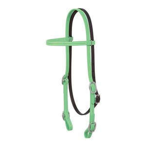 BRAHMA SOFT GRIP HEADSTALL LIME