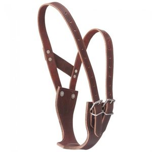 BROWN HORSE LEATHER COLLAR