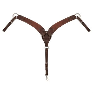 ENGLISH BREASTPLATES RICH BROWN