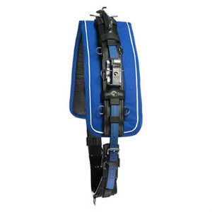 QH RACING HARNESS PRO USA BLUE