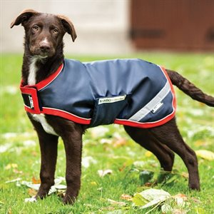 COUV. RAMBO IMPERMEABLE ROUGE / MARINE XXXLARGE POUR CHIEN