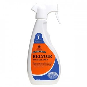BELVOIR TACK CLEANER SPRAY 500ML STEP1