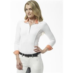 ARISTA SHIRT  LONG SLEEVE WHITE PAPAYE