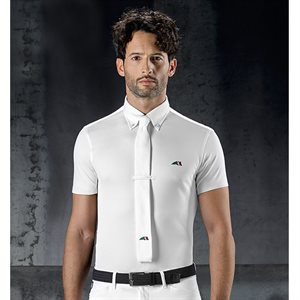 EQUILINE MAN COMPETITION POLO SHIRT BLANC