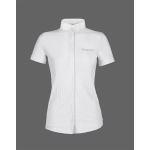 EQUILINE WHITE COMPETITION SHIRT MISTY