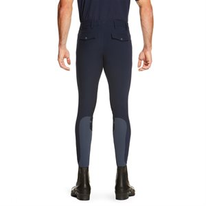 ARIAT BREECHES MENS HERITAGE ELITE KNEE PATCH LONG NAVY